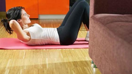 10 formas de hacer ejercicio sin moverse de casa