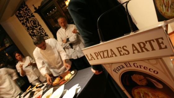 Cuando la pizza se convierte en un arte: Marquinetti