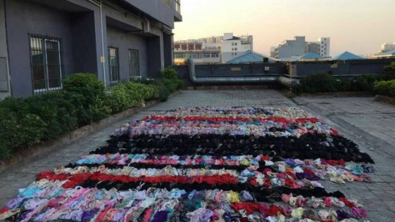 Detienen a un hombre en China por robar la ropa interior a sus vecinas