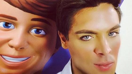 Aparece el nuevo Ken humano, Mauricio Galdi