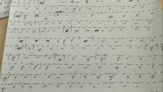 Profesor castiga a sus alumnos dibujando 1.000 emoticonos