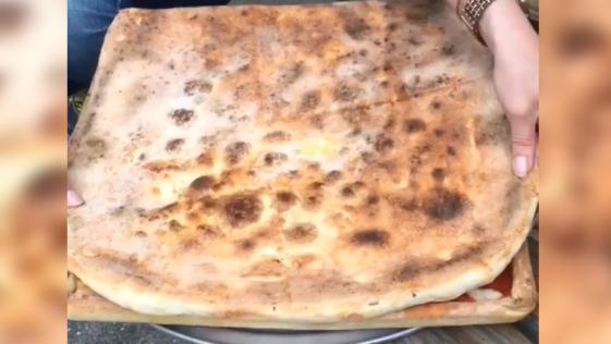 Inventan una caja de pizza…hecha de pizza