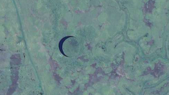 Descubren una misteriosa isla circular que se mueve