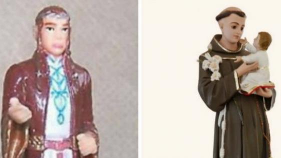 Una abuela lleva años rezando a una figurita de un elfo de 'El Señor de los Anillos'