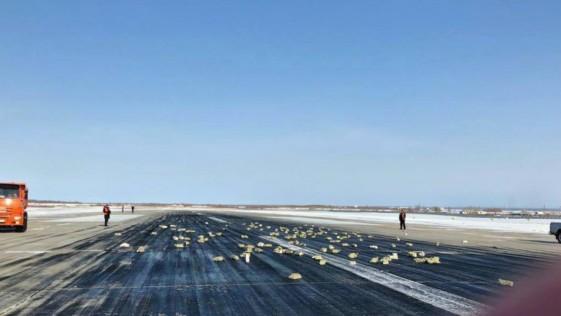Llueven lingotes de oro en Rusia