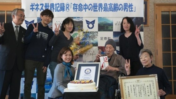 Un japonés de 112 años es el nuevo hombre más viejo del mundo