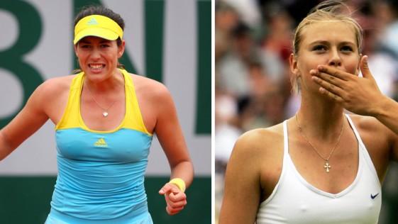 Sharapova contra la española Muguruza, en directo. Cuartos de final Roland Garros