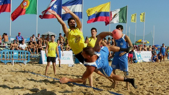 Mundial balonmano playa femenino y masculino