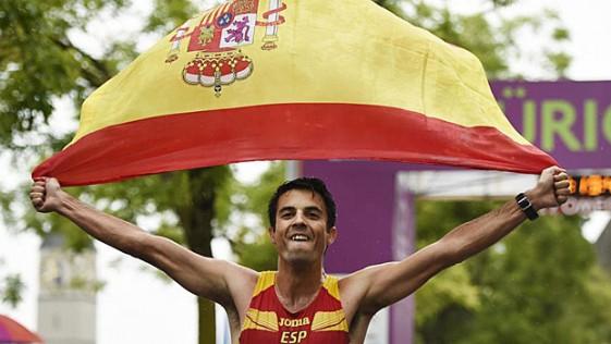 Medalla de oro en marcha para Miguel Ángel López