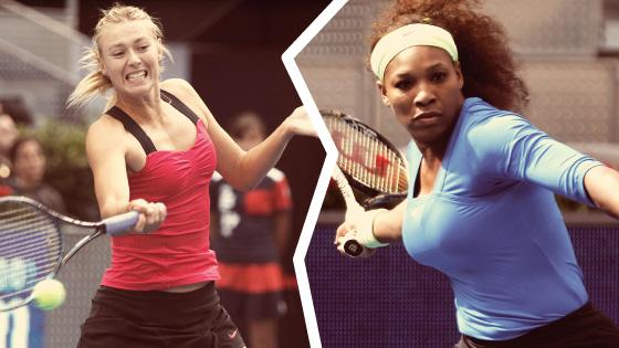 Maria Sharapova y Serena Williams, el mejor tenis en Australia