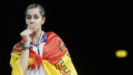 Carolina Marín ejemplo de campeona, clase y profesionalidad