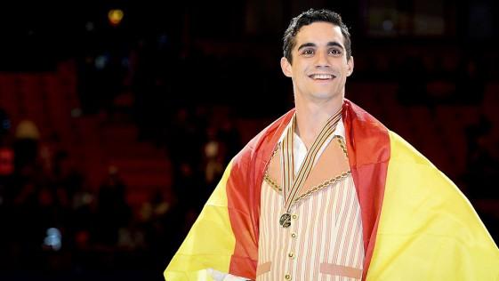 Javier Fernandez a por todas en el Campeonato Mundial de Patinaje Artístico 2015