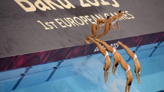 El equipo español de natación sincronizada nunca falla a la cita de las medallas