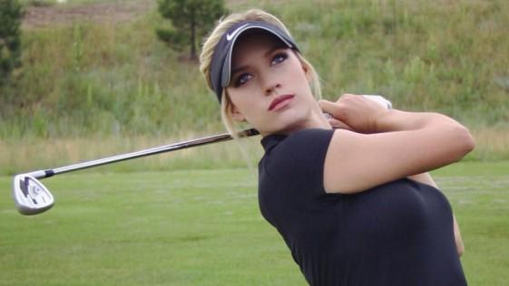 Paige Spiranac más sexy que golfista