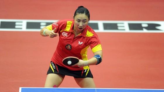 Yanfei Shen – 晏菲神 燕飞神 雁飞神 logra el primer oro en ping pong