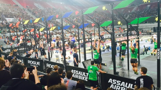Crossfit Invitational 2015 Madrid