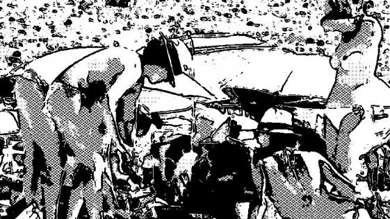 Muerte en la carretera