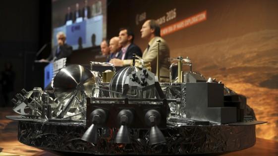¿Se ha estrellado Europa en Marte?