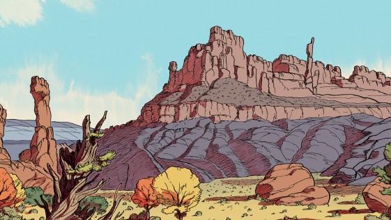 Un western que no es lo que parece