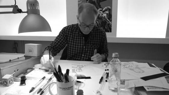 Entrevista a Javier Olivares, ilustrador