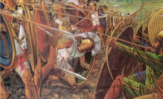 La guerra en Grecia y Roma ilustrada