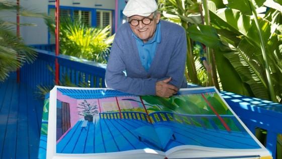 El libro como objeto de arte de David Hockney