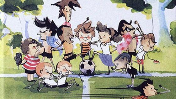 Historias de fútbol y amistad