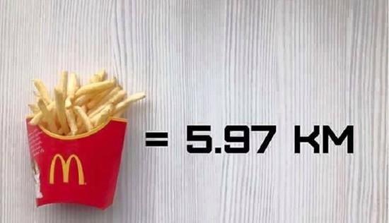 """""""Fast food"""" a cambio de kilómetros"""