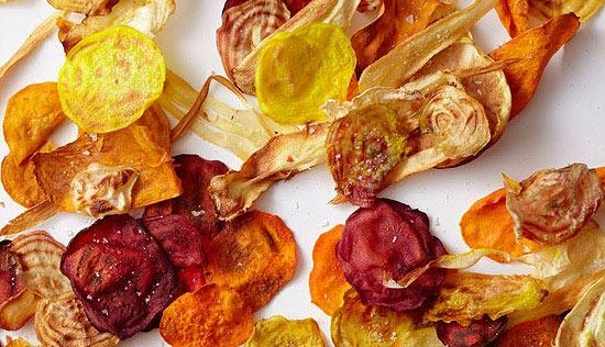"RECETA FIT: ""chips"" de verdura caseros"