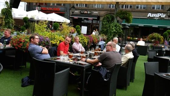 Turista en Riga