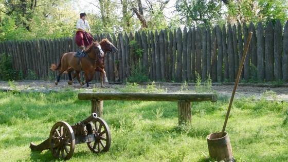 Tras las huellas de Shevchenko, en territorio cosaco