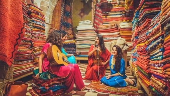 Gnawa, músicas del mundo en Essaouira