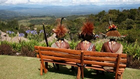 Los huli, la tribu más remota de Papúa Nueva Guinea