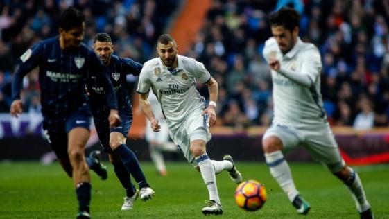 El Málaga lleva unos años siendo un duro rival en el Bernabéu