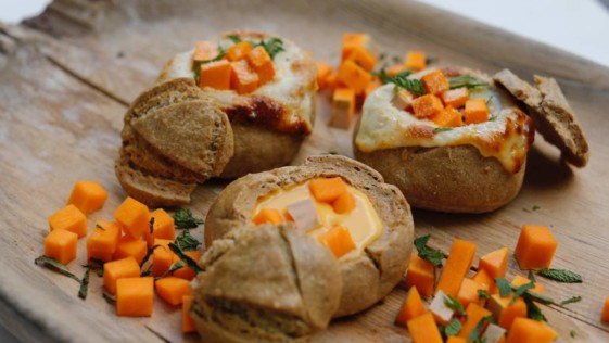 Bread Bowl de Calabaza