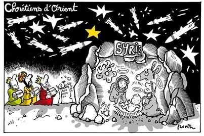 Cristianos bajo las bombas