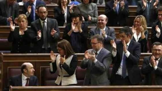 Al PSOE le agota la unidad de España