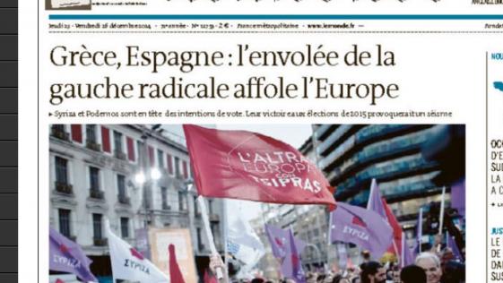 Podemos preocupa en Europa