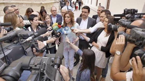 El efímero estrellato de Susana Díaz