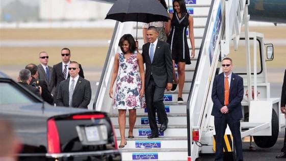 La histórica y frívola visita de Obama