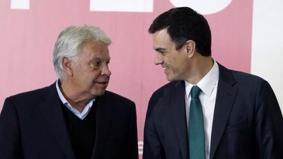 Felipe contra Pedro Sánchez