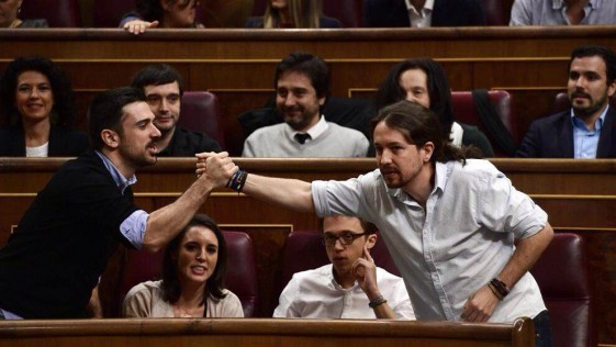 La desfachatez de Ramón Espinar