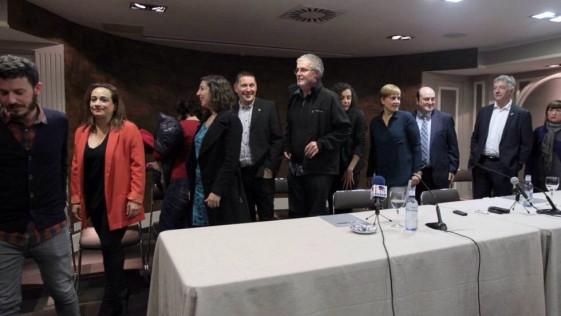 EL PSOE en la foto de la vergüenza