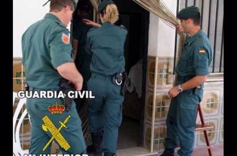 La compresa contra la Guardia Civil
