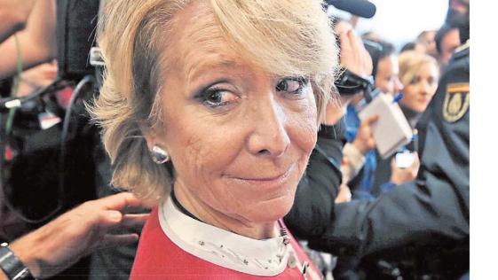 Esperando la dimisión de Esperanza Aguirre