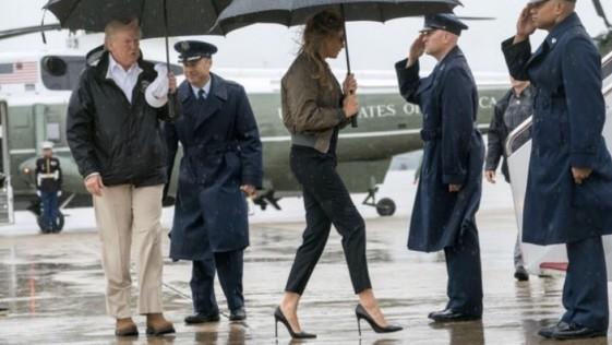 Los tacones de Melania Trump