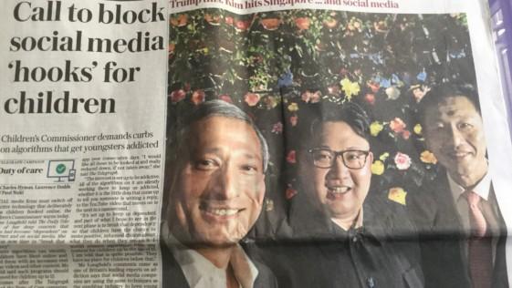 Selfies totalitarios