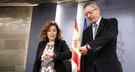 ¿Soraya a Madrid y Gallardón a Europa?