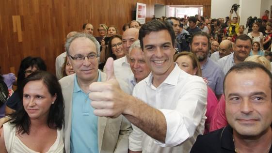 El PSOE andaluz, rendido a Pedro Sánchez