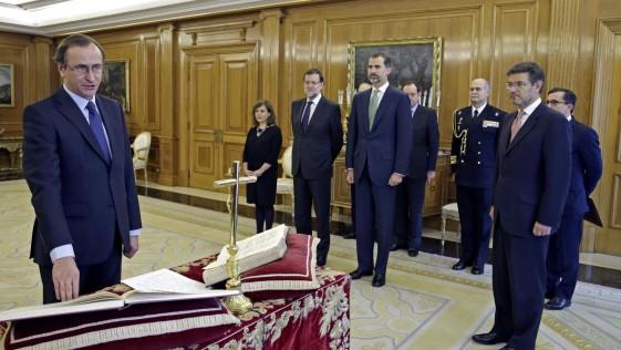 Así nombró Rajoy ministro a Alonso